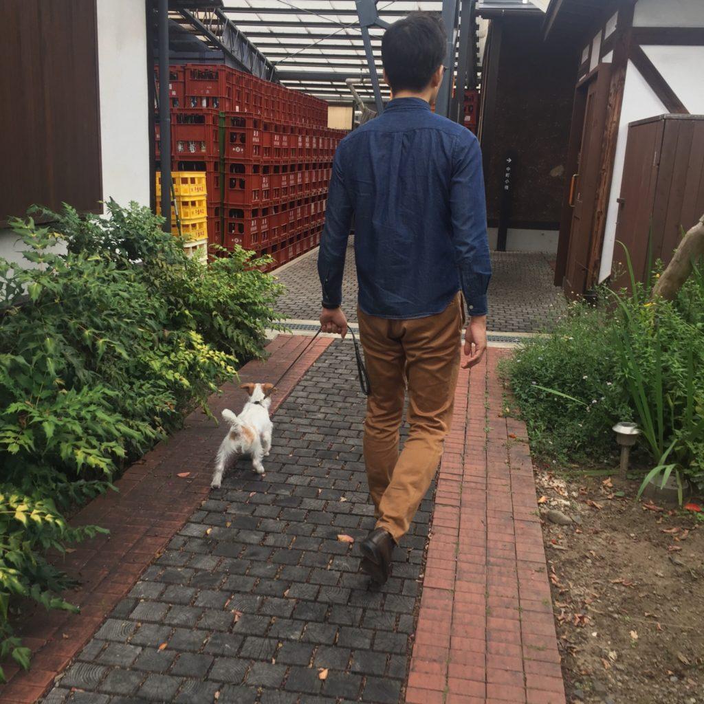 小布施は犬に優しい街