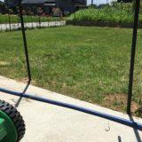 初めての芝刈り